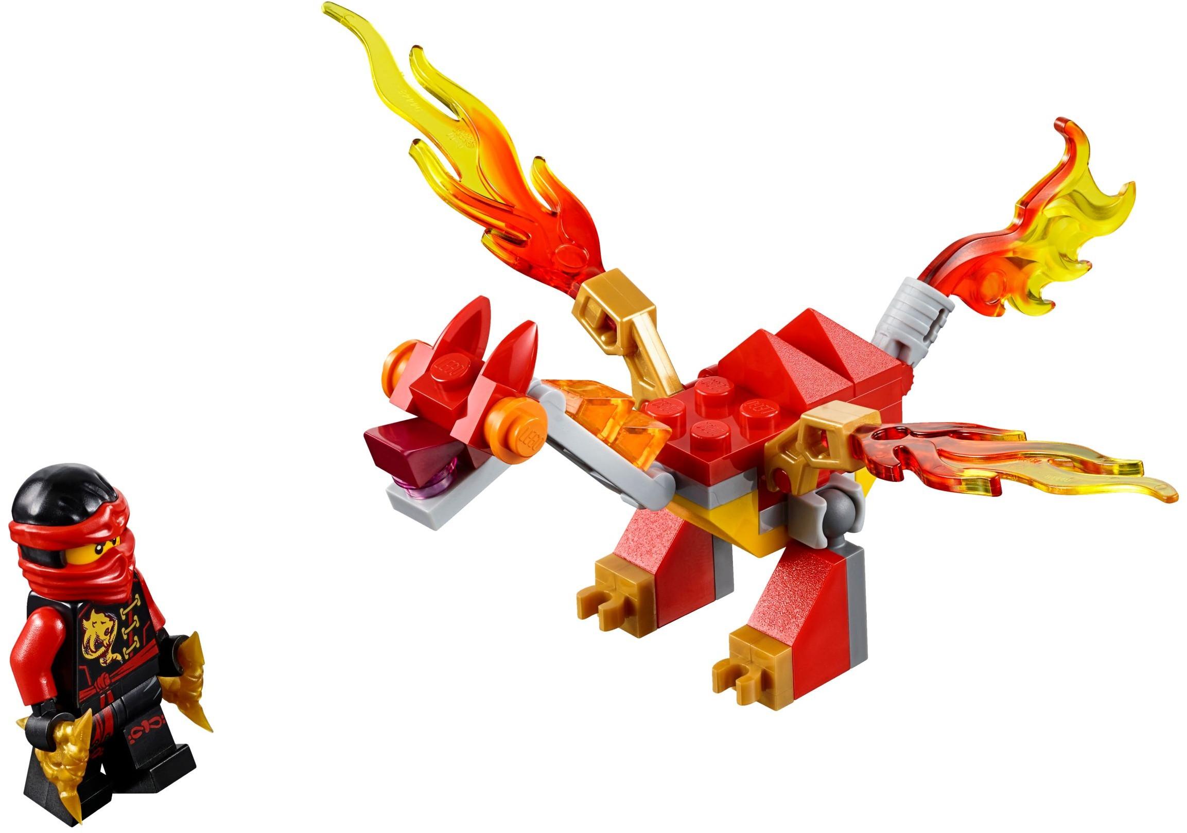 30422 Мини-дракон Кая