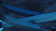 Kai fighting Samurai X with his Twin Katanas