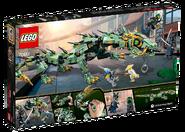 70612 Green Ninja Mech Dragon Box Backside