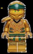 Regular Golden Lloyd Minifigure