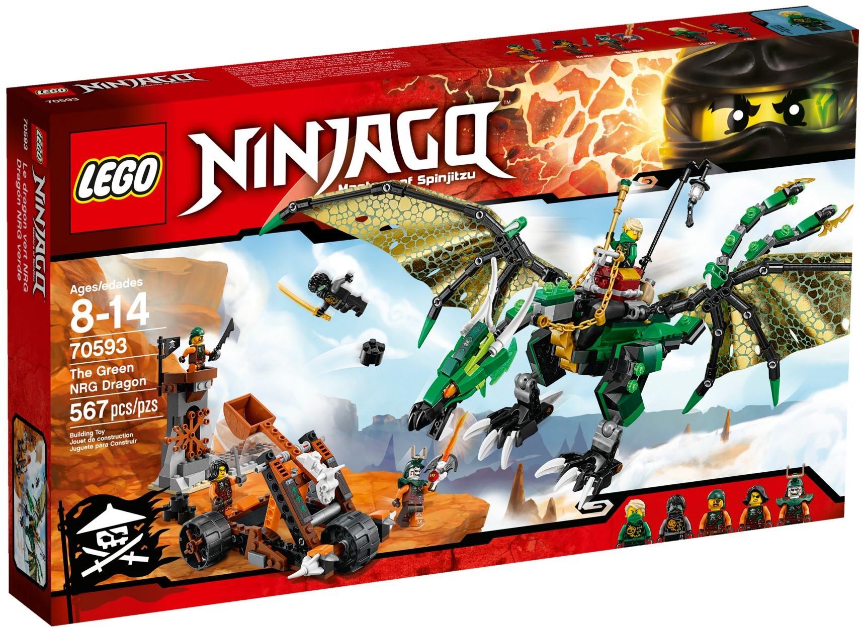 70593 The Green NRG Dragon