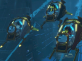 Submersible combat crafts