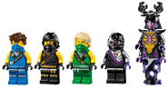 71699 Thunder Raider Minifigures