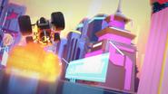 Explosions, Nya scene in Speed Way Five billion5