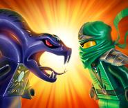 57357 Ninja Snakes 2012