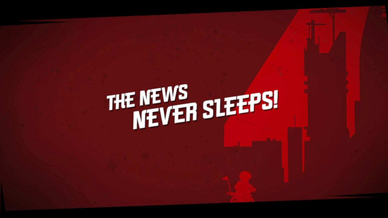 Новости никогда не спят