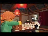 Zaney Chess Game - LEGO NINJAGO - Wu's Teas Episode 18