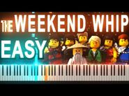 -EASY- Lego Ninjago Theme Song by TheFold - Synthesia Piano Tutorial