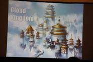 Концепт-арт Облачного Королевства