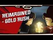 LEGO NINJAGO LEGACY shorts - Reimagined - Gold Rush