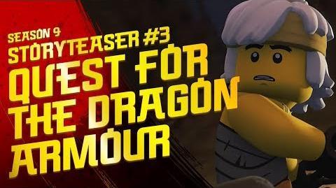 Quest For The Dragon Armor - LEGO Ninjago - Season 9 - Hunted Teaser 3