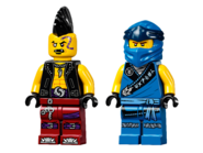 71740 Jay's Electro-Mech Minifigures