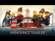 The Time Has Come - LEGO Ninjago Movie - Video Game Trailer