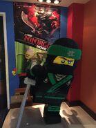 LEGO Lloyd Sculpture