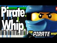 LEGO NINJAGO - Pirate Whip - The Fold - Synthesia Piano Tutorial