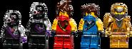 71737 X-1 Ninja Charger Minifigures