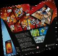 70684 Spinjitzu Slam - Kai vs. Samurai Box Backside