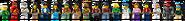 71741 Ninjago City Gardens Minifigures
