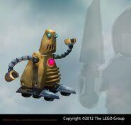 NINJAGO CHAR Robotbutler