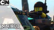 Ninjago Epic Ninja Bike Chase Cartoon Network