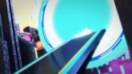 Explosions, Nya scene in Speed Way Five billion4