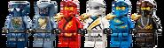71739 Ultra Sonic Raider Minifigures