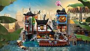 70657 Ninjago City Docks Poster
