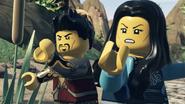 Родители Кая и Нии во время битвы