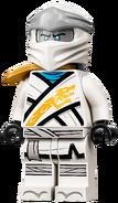 Legacy Zane Minifigure (Titanium Head and Armored) 2