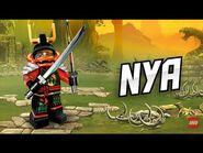 Nya - LEGO Ninjago - Character Video