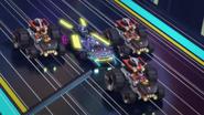 Explosions, Nya scene in Speed Way Five billion2