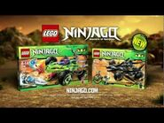 LEGO® Ninjago Cole's Tread Assault and Fangpyre Truck Ambush