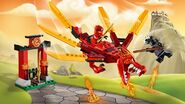 71701 Kai's Fire Dragon Poster