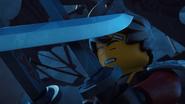 Kai wielding his Twin Katanas against vs Samurai X