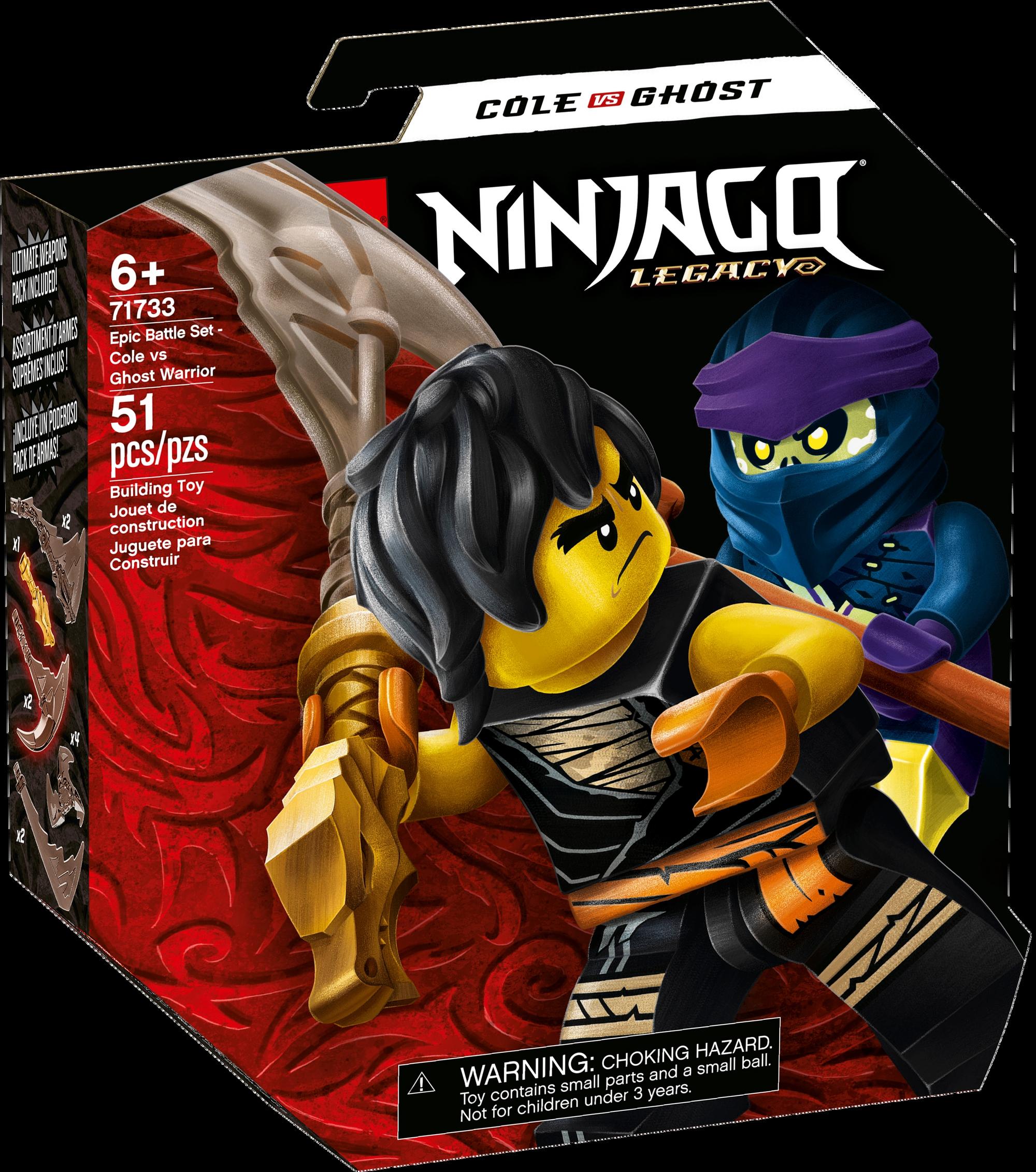 71733 Epic Battle Set - Cole vs. Ghost Warrior | Ninjago Wiki