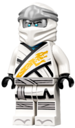 Legacy Zane Minifigure (Titanium Head) 2