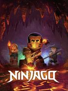 Ninjago Master of the Mountain Poster 2