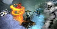 Ninjago Original Concept Art 2009