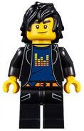 Movie Casual Wear Cole Minifigure Version 2