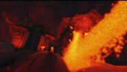 Geoatomic lava breath