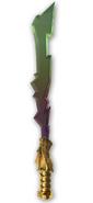 Cole's elemental blade