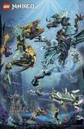 LEGO Magazine Seabound Poster