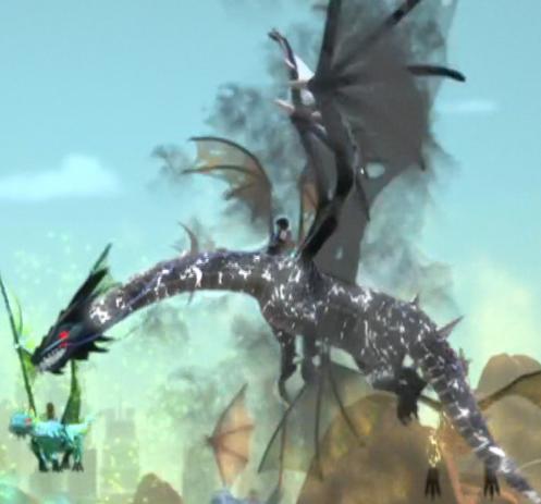 Elemental Shadow Dragon