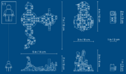 71721 Skull Sorcerer's Dragon Dimensions 3