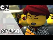 Ninjago - Combining Powers to Avoid Garmadon - Cartoon Network