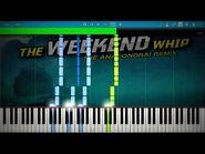 LEGO NINJAGO - Weekend Whip Anacondrai Remix - Synthesia Piano Tutorial