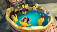 Ninja Hot Tub
