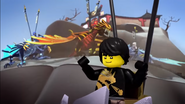 Ninjago Flight of the Dragon Ninja 73