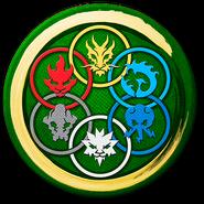 The Six elemental symbols