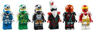 71712 Empire Temple of Madness Minifigures